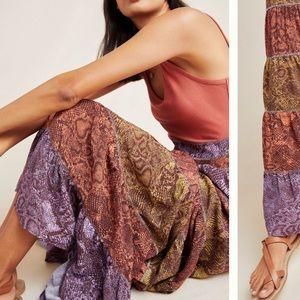 Anthropologie Colima Maxi Dress